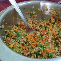 Foto da receita: Salada de quinoa