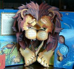 the chronicles of narnia pop up book by sabuda