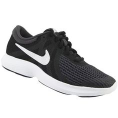 823170b8ec0 Nike Revolution 4 BGS Running Shoes - Kids Black White Anthracite Rogan s  Shoes