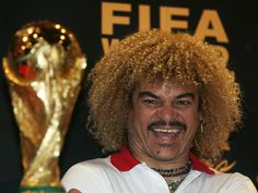 One day, Carlos, one day. Colombian Football: On the up and not to be missed Carlos Valderrama, Miss Colombia, Colombia Travel, Famous Colombians, Colombian Culture, Spanish Speaking Countries, Thirty Two, How To Speak Spanish, Football