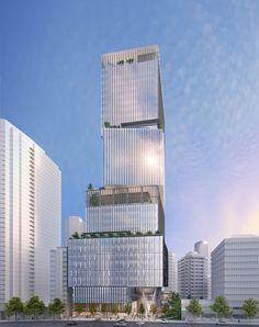 1133 Melville tower design