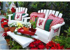 Christmas Cottage Garden