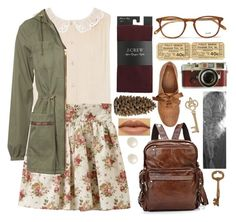 Fix You by vintagenerd8 on Polyvore featuring polyvore, fashion, style, Alice + Olivia, Jane Norman, J.Crew, Juliet & Company, Garrett Leight and Crate and Barrel