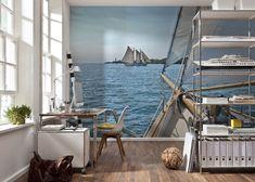 FOTOTAPETE Dekoration Bild Tapete Wandbild SAILING