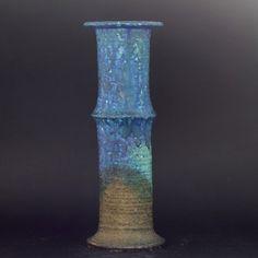 Vase by Francesca Mascitti Lindh for Arabia Finland, Finland, Stoneware, Scandinavian, Objects, Pottery, Sculpture, Retro, Danish, Vases