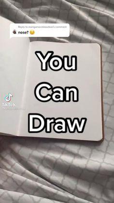 Art Drawings Beautiful, Art Drawings Sketches Simple, Pencil Art Drawings, Realistic Drawings, Easy Drawings, Nose Drawing, Drawing Tips, Diy Canvas Art, Art Sketchbook