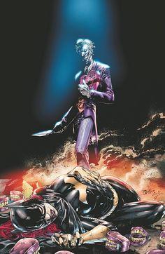 Batgirl 14 A Printing Joker Harley Quinn DC new 52 non die cut batman Dc Comics, Batman Comics, Comic Superheroes, Comic Book Characters, Comic Character, Comic Books Art, Dc Batgirl, Batwoman, Im Batman