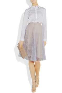 Erdem Ez pleated lace skirt - 70% Off Now at THE OUTNET