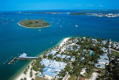 Aerial View of Sunset Key - too bad it is over 400 a night! :)
