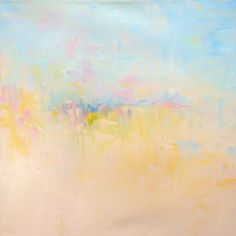 Abstract Landscape 'Under the Influence' - oil painting on canvas - size 40cm x 40cm on Etsy, $140.00