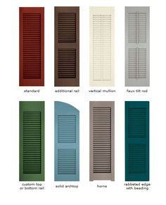 Exterior shutters buying guide functional decorative - Best spray paint for exterior shutters ...