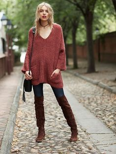 Autumn perfection // Free People Pockets Pockets Tunic at Free People Clothing Boutique: