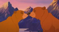 *NITA & KENAI ~ Brother Bear, 2003
