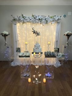 Engagement table setup – My Wedding Dream Wedding Hall Decorations, Diy Wedding Backdrop, Table Decorations, Photo Corners, Groom Poses, Event Planning Business, Marry Me, Backdrops, Bridal Shower