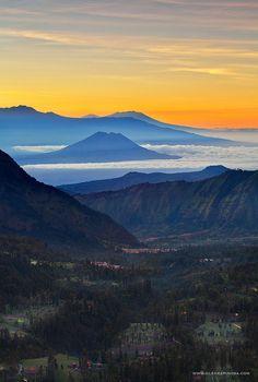 Pananjakan Sunrise East Java, Indonesia
