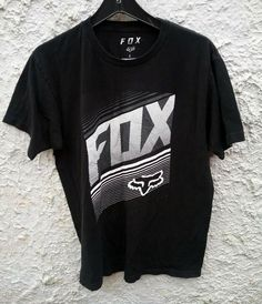 83ece9362 FOX Racing Standard Fit T Shirt Large Black #fashion #clothing #shoes  #accessories #mensclothing #shirts (ebay link)