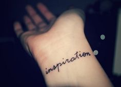 I WANT A WRIST TAT SO BAD!!