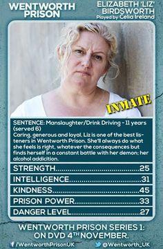Liz character card