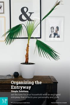 5 Simple Solutions: Organizing the Entryway - Metropolitan Organizing® Entryway Organization, Organized Entryway, Declutter, Organizing, Mudroom, Simple, Inspiration, Biblical Inspiration, Entry Organization