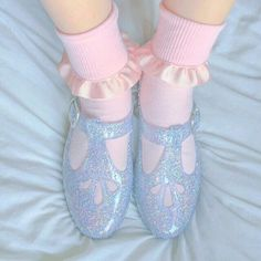 Everything Girly: Photo Sock Shoes, Cute Shoes, Me Too Shoes, Baby Girl Toys, Toys For Girls, Harajuku Fashion, Kawaii Fashion, Pastel Shoes, Space Outfit