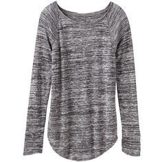 Athleta Women Shanti Sweater Knit Top Size XXS ($70) ❤ liked on Polyvore featuring tops, sweaters, long sleeves, shirts, grey, gray long sleeve shirt, grey shirt, loose sweater, long sleeve knit sweater and long sleeve knit shirts