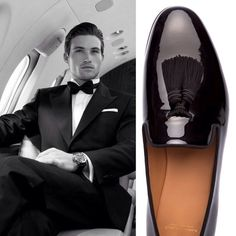 Be a gentleman and follow @superglamourous Handmade in Italy patent leather slippers with silk tassels Shop them at www.superglamourous.it Worldwide shipping #men #shoes #silk #tassels #patent #gentlemen #velvetslippers