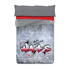 Dúo Nórdico WATS WT007 Modelo Art Red. Nuestra dúo nórdico con diseño de graffiti color flúor
