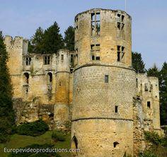 Château Beaufort im Müllerthal im Osten von Luxemburg