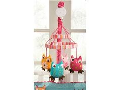 Zutano Owls Mobile. I need this for piper's crib. She would love it.