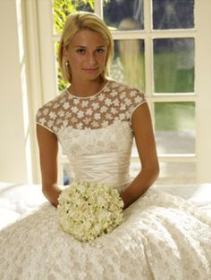Daisy daisy Wedding dress by Phillipa Lepley