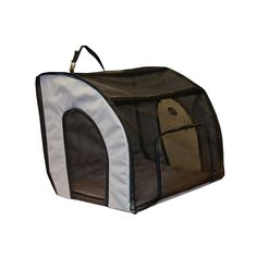K&H Travel Safety Carrier - Gray - 17 in. x 19 in. x 24 in. http://www.thatpetplace.com/travel-safety-carrier-gray-medium-17-in-x-19-in-x-24-in?utm_content=buffer0ee37&utm_medium=social&utm_source=pinterest.com&utm_campaign=buffer @khpet | The K&H Travel Safety Carrier is the ideal way to safely transport your pet in your car.  Keeping the pet comfortably and securely contained in the carrier will prevent distractions while driving.  Features a large door for easy access.  All sizes secure…