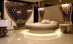 Özel Tasarım Avangarde Yatak Odası   LUSSO Mobilya Yatak Odası Tasarımları
