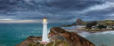 Castle Point Lighthouse by muha04 on @creativemarket
