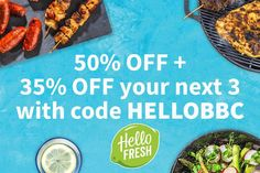 hello-fresh-logo-sidebar-promo-sept-2020 Cooking Time, Cooking Classes, Batch Cooking, Prune, Bbc Good Food Recipes, Yummy Food, Thing 1, Food Shows, Asian