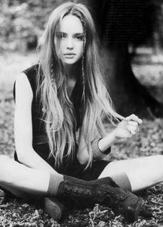 little hippie braids