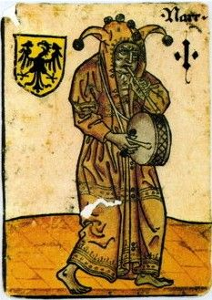 Narr, Deutschland (German Knave/Fool) playing tambor drum and blowing pipe at… Medieval Games, Medieval Music, Medieval Life, Medieval Art, Renaissance, Medieval Manuscript, Illuminated Manuscript, Medieval Jester, Kunsthistorisches Museum Wien