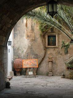 Ortigia, via Maestranza, Siracusa, Sicily