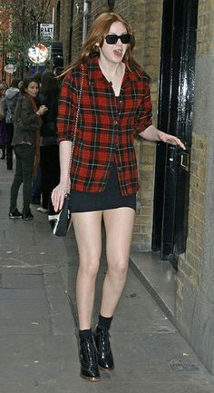 Yesss to all of this! The perfect blend of casual (plaid/flannel) and sexy (mini dress/skirt).