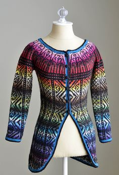 Ravelry: All Colors Sweater pattern by Amy Gunderson