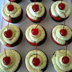 Cook Yu Cook Mi: Spumoni Cupcake