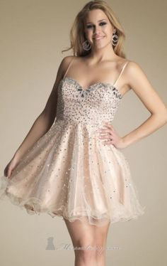 beaded tulle dress dave johnny Dave and Johnny 7789 Dress