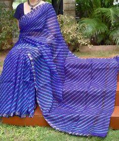 Kota Silk Saree, Silk Sarees, Hand Weaving, Tie Dye, Elegant, Unique, Collection, Beautiful