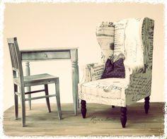 Wingback chair by meitina.deviantart.com on @DeviantArt