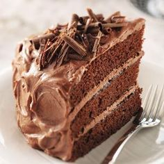 Best Chocolate Cake ~ With a tender crumb and rich frosting, a layered chocolate cake always impresses, no matter the occasion.