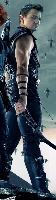 Hawkeye was easily one of the best characters in Avengers Age of Ultron. Both funny and touching.