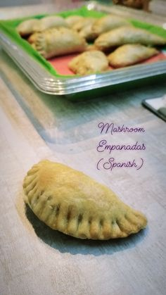 Mashroom Empanadas 🍄