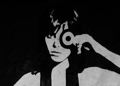 original black & white by @Bb_farandularte <3