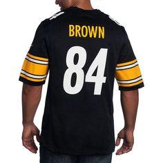da5461fc3 Picture of Pittsburgh Steelers Nike #84 Antonio Brown Replica Home Jersey  Antonio Brown, Pittsburgh
