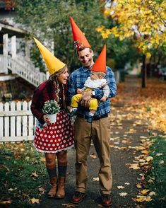 My little gnome family ❤️#becksedge #happyhalloween #gnomebaby