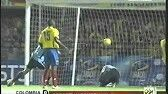 Uruguay 2 Colombia 1 in 2004 in Cuzco. Vicente Sanchez nipped in to make it 2-1 on 80 minutes in the 3rd place play-off at Copa America.